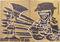 Bild Nr. 11107 — Grieshaber, HAP Grieshaber - Der Engel der Geschichte Nr. 22. 1975