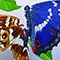 Bild Nr. 17708 — Klose, Shattered butterfly: Großer Schillerfalter