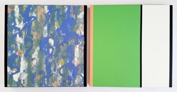Bild Nr. 12388 — Ernst Wolf (*1948): Bildpaar 10/14 (2014)