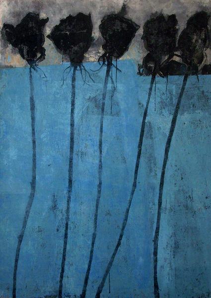 Bild Nr. 12903 — Ulrike Michaelis (1958-2015): Ohne Titel (Rosen)