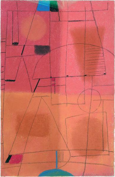 Bild Nr. 12915 — Max Ackermann (1887-1975): Ohne Titel