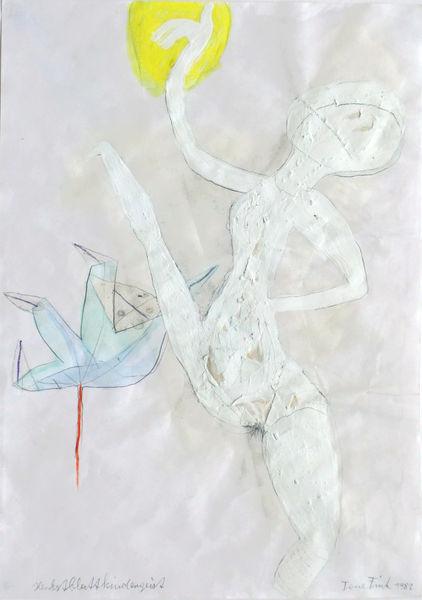 Bild Nr. 14849 — Tone Fink (*1944): Herbstblattkindergeist (1982)