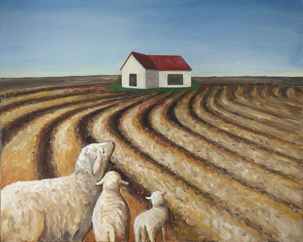 Bild Nr. 15154 — Christa Murken (*1944): Heimat (2005)