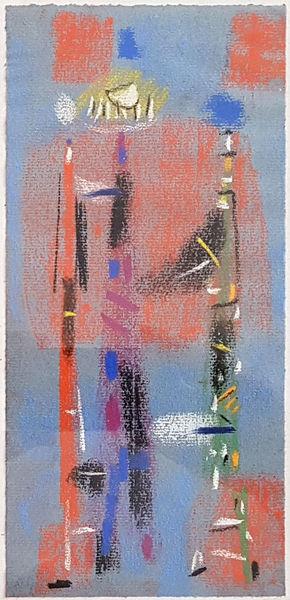Bild Nr. 15162 — Max Ackermann (1887-1975): Ohne Titel (Glasfensterentwurf) (1954)