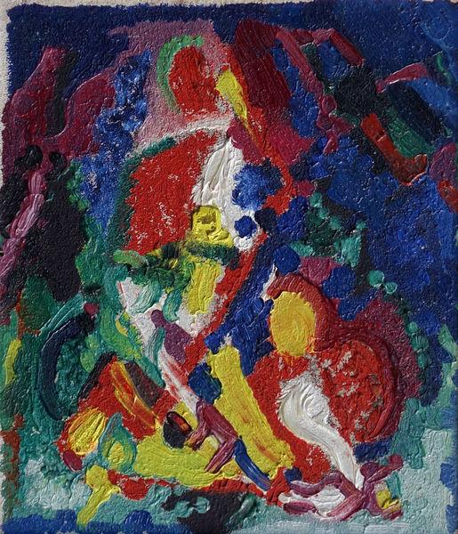 Bild Nr. 15165 — Max Ackermann (1887-1975): Ohne Titel (1945)
