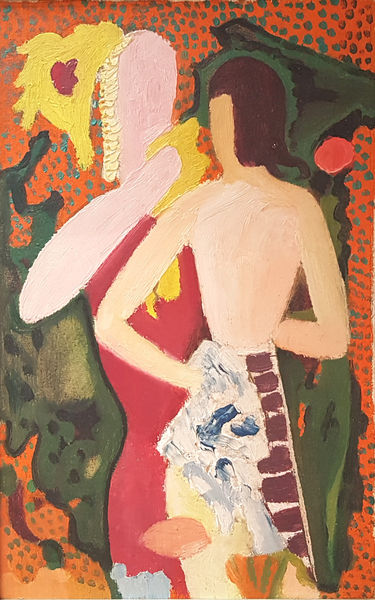 Bild Nr. 15167 — Max Ackermann (1887-1975): Ohne Titel (1946)