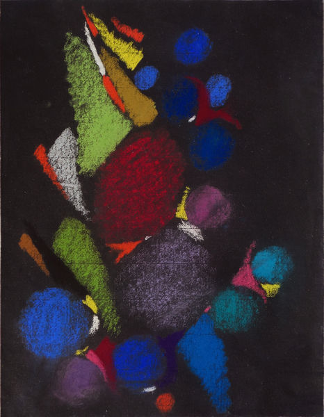 Bild Nr. 15179 — Max Ackermann (1887-1975): Ohne Titel (1958)