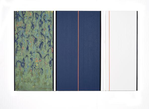 Bild Nr. 15541 — Ernst Wolf (*1948): Gleichzeit 3/18 (2018)