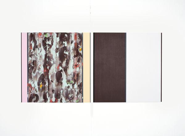 Bild Nr. 15548 — Ernst Wolf (*1948): Bildpaar 1/14 (2014)