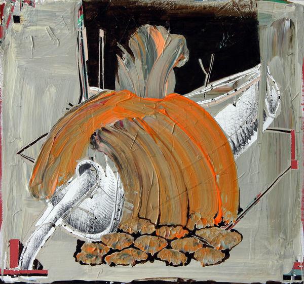 Bild Nr. 15565 — Andrea Lein (*1959): Honigflip (2018)