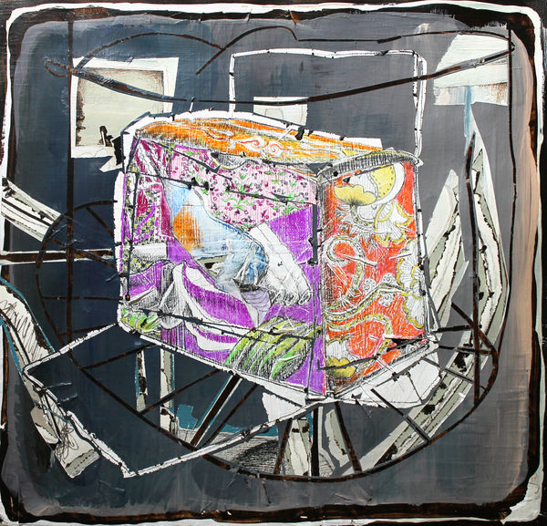 Bild Nr. 15572 — Andrea Lein (*1959): Mimose (2018)