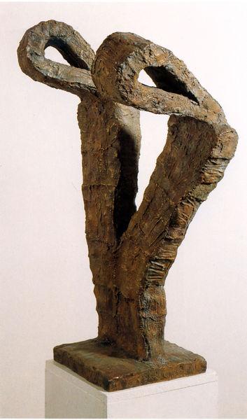Bild Nr. 7984 — Bernhard Müller-Feyen (1931-2004): Ohne Titel (Archetypus) (1990)