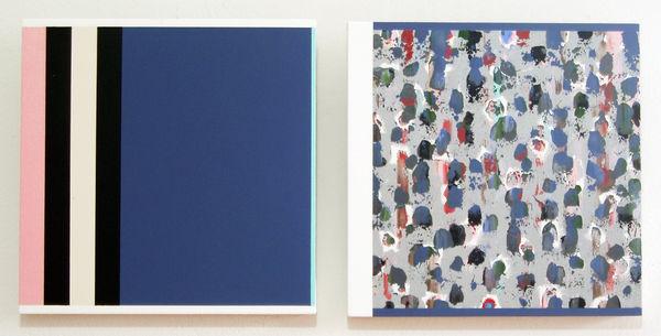 Bild Nr. 9958 — Ernst Wolf (*1948): Bildpaar (2012)