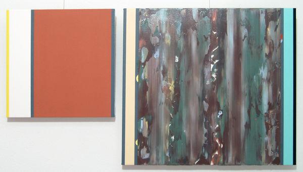 Bild Nr. 9959 — Ernst Wolf (*1948): Bildpaar (2013)