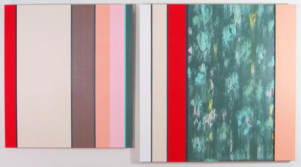 Bild Nr. 9961 — Ernst Wolf (*1948): Bildpaar (2013)