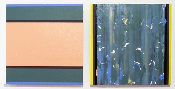 Bild Nr. 9979 — Ernst Wolf (*1948): Bildpaar (2011)