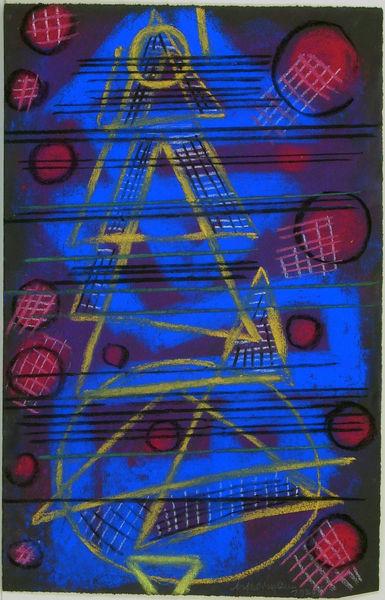 Bild Nr. 10466 — Max Ackermann (1887-1975): Ohne Titel (ACK6391) (1974)