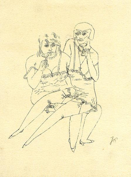 Bild Nr. 11362 — Johannes Poesenecker (1897-1969): Das Grafische Werk von Johannes Poesenecker 1897-1969