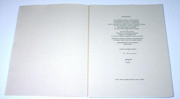 Bild Nr. 11550 — Nino Aimone (1932-2020): Intermittenze (1992)