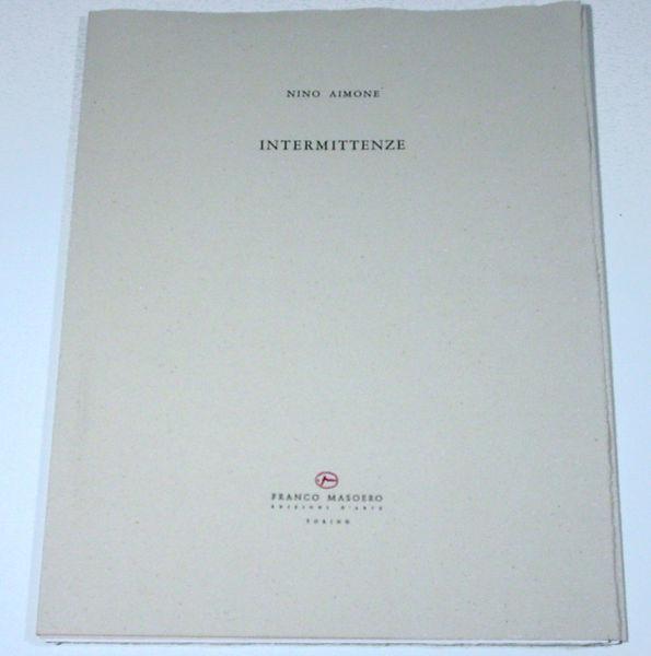 Bild Nr. 11551 — Nino Aimone (1932-2020): Intermittenze (1992)
