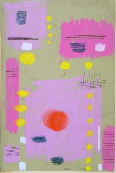 Bild Nr. 11591 — Max Ackermann (1887-1975): Ohne Titel (1974)