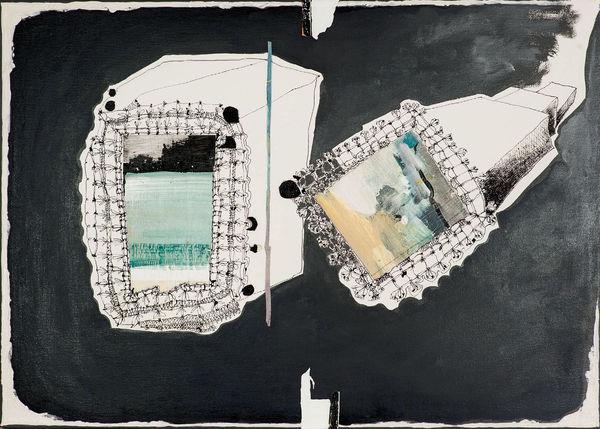 Bild Nr. 11974 — Andrea Lein (*1959): Kaleidoskope (2014)