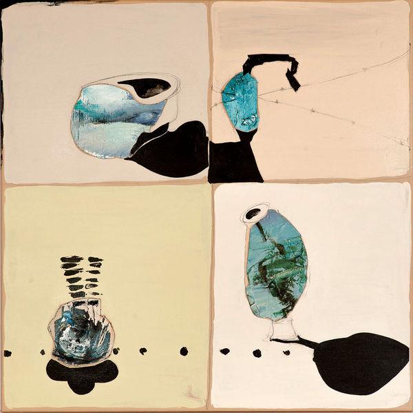 Bild Nr. 11979 — Andrea Lein (*1959): Viermaleins (2014)