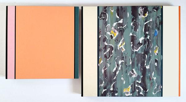 Bild Nr. 12387 — Ernst Wolf (*1948): Bildpaar 7/14 (2014)
