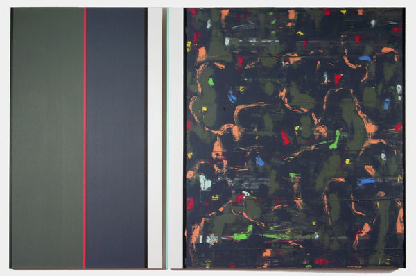 Bild Nr. 12393 — Ernst Wolf (*1948): Bildpaar 11/014 (2014)