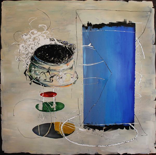 Bild Nr. 12405 — Andrea Lein (*1959): Hulahupp (2015)