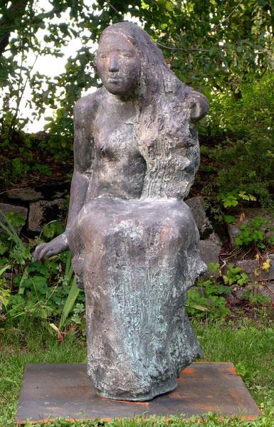 Bild Nr. 1246 — Ralf Kleine (*1962): Sitzende