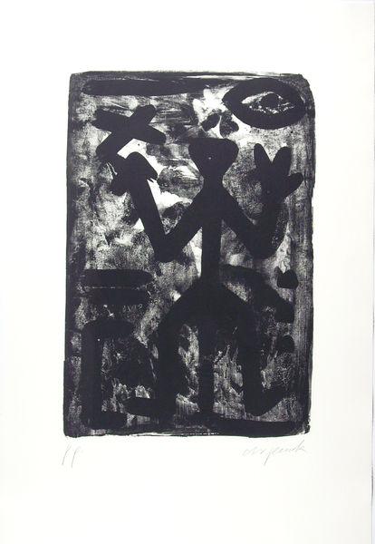 Bild Nr. 12870 — Penck (d.i. Ralf Winkler) (1939-2017): Ohne Titel