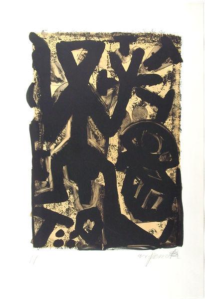 Bild Nr. 12871 — Penck (d.i. Ralf Winkler) (1939-2017): Ohne Titel