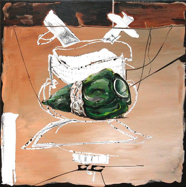 Bild Nr. 13894 — Andrea Lein (*1959): Bodensatz (2016)