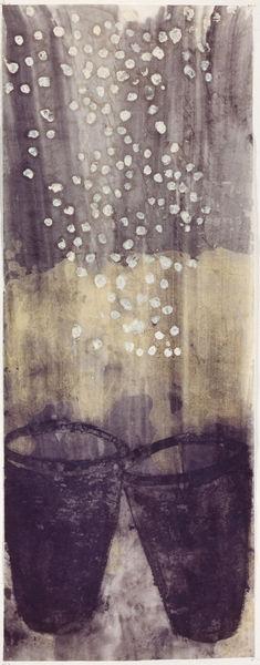 Bild Nr. 14079 — Ulrike Michaelis (1958-2015): Schneevasen (1998)