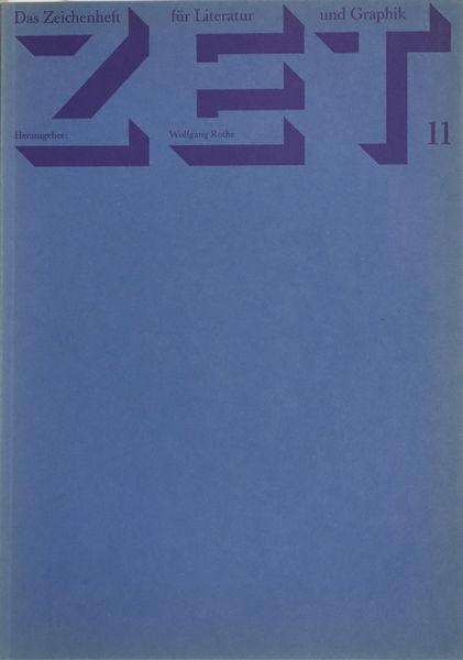 Bild Nr. 14332 — Verschiedene Künstler: Sammlung von 5 Heften: ZET Das Zeichenheft für Literatur und Graphik