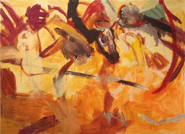 Bild Nr. 14466 — Robert Weissenbacher (*1983): Engelsreiter – eine Feuertaufe (2017)