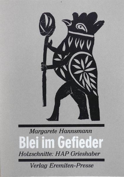 Bild Nr. 14731 — HAP Grieshaber (1909-1981): Blei im Gefieder (1975)
