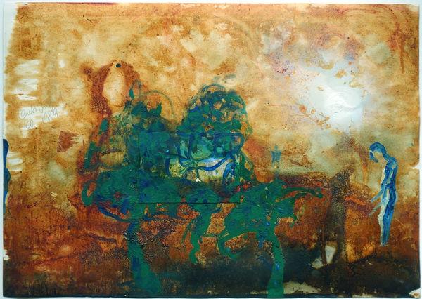 Bild Nr. 14854 — Thomas Lange (*1957): Ohne Titel (1989)