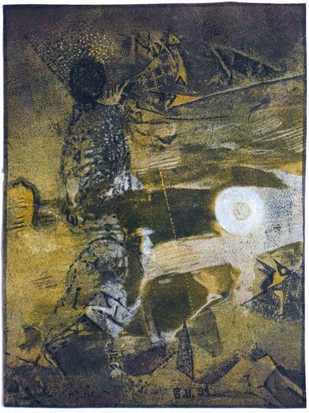 Bild Nr. 14862 — Günter Ullmann (*1946): Ohne Titel (1991)