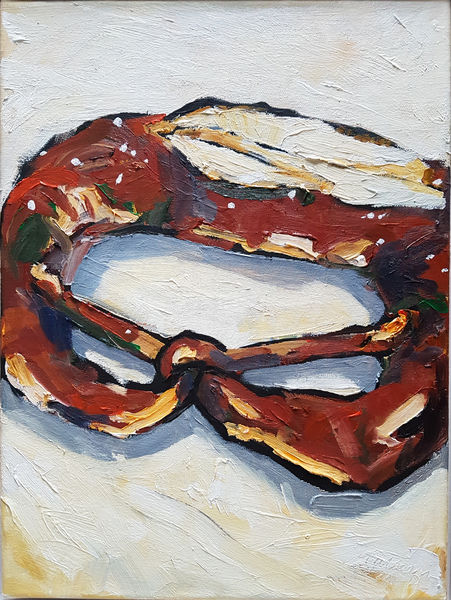 Bild Nr. 14873 — Wolfgang Häberle (*1951): Kleine Heimat - zurück (2012)