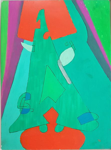 Bild Nr. 14914 — Max Ackermann (1887-1975): 17.8.69 (1969)