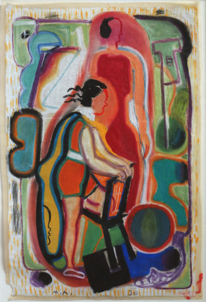 Bild Nr. 15178 — Max Ackermann (1887-1975): Ohne Titel (1930)
