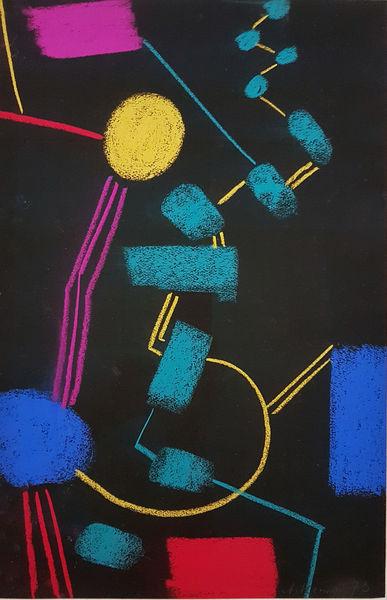 Bild Nr. 15538 — Max Ackermann (1887-1975): Ohne Titel (1973)