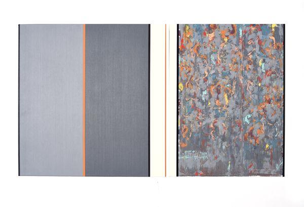 Bild Nr. 15543 — Ernst Wolf (*1948): Bildpaar 5/17 (2017)