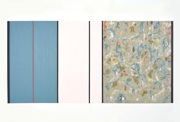 Bild Nr. 15544 — Ernst Wolf (*1948): Bildpaar 6/17 (2017)