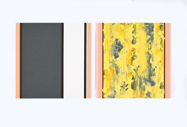 Bild Nr. 15550 — Ernst Wolf (*1948): Bildpaar 8/12 (2012)