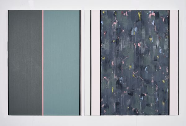 Bild Nr. 15552 — Ernst Wolf (*1948): Bildpaar 2/15 (2015)