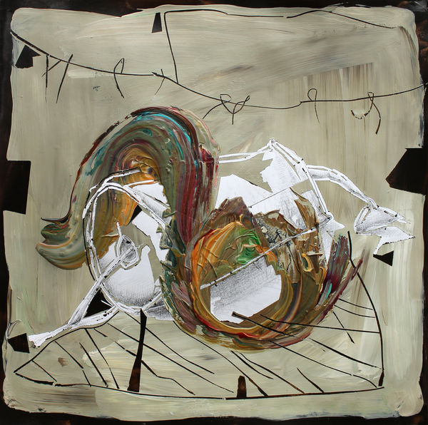 Bild Nr. 15559 — Andrea Lein (*1959): Tarnung (2018)