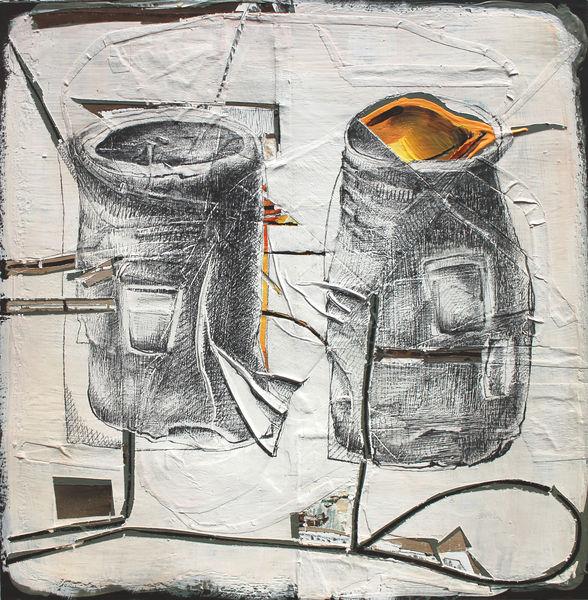 Bild Nr. 15567 — Andrea Lein (*1959): Honig (2018)